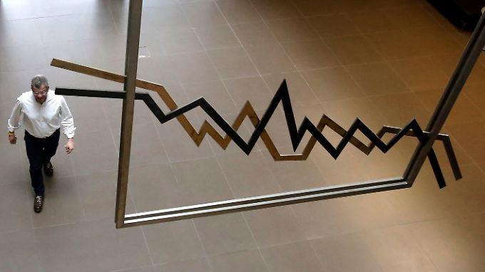 Der griechische Bankenindex brach am Montag um bis zu 9,3 Prozent ein.