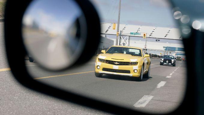 Inzwischen auch in Deutschland beim Händler zu haben: Der Chevrolet Camaro.