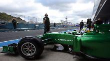 Caterham verkauft Habseligkeiten: Formel-1-Team kommt unter den Hammer