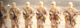 Bei den Kämpfern des IS in Syrien.