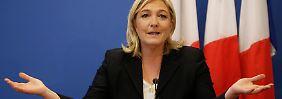"""""""Ich werde dich töten"""": Reporter von Le-Pen-Vertrauten bedroht"""