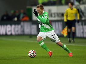 Wolfsburgs Neuzugang Andre Schürrle zeigte ein starkes Debüt.