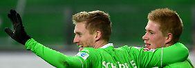Weltmeister gibt starken Einstand: Schürrle macht Wolfsburg noch schneller