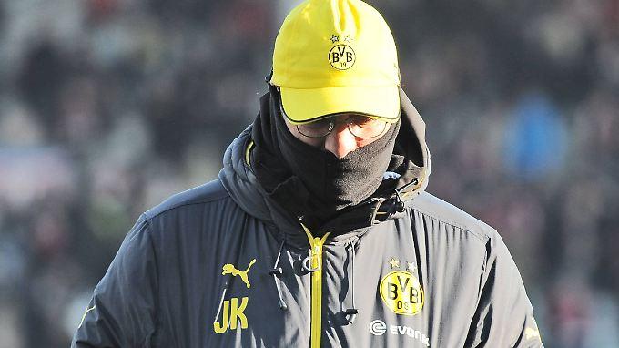 Jürgen Klopp hat nach der Winterpause noch nicht erkennen lassen, dass er den BVB taktisch aus der Krise führen kann.