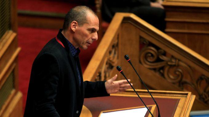 """Yanis Varoufakis bezeichnet das Sparprogramm in Athen als """"toxisch""""."""