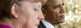 Waffen für die Ukraine?: Obama klingt schon fast wie Merkel