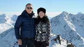 Seydoux war nicht auf der Berlinale, weil sie gerade mit Daniel Craig für James Bond dreht.
