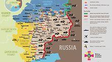 Wer herrscht wo?: Die Wirklichkeit des Ukraine-Schlachtfelds