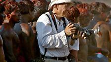 Seit 40 Jahren dokumentiert er auf der ganzen Welt Konflikte, Kriege und Vertreibung ...