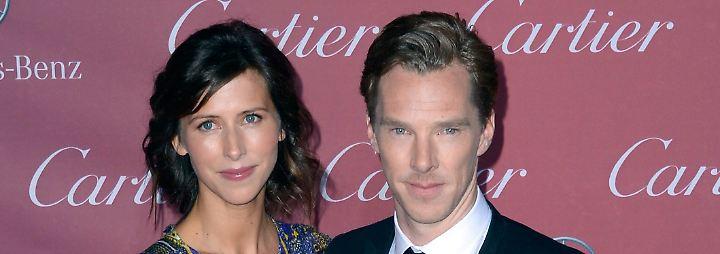 Promi-News des Tages: Benedict Cumberbatch freut sich über Sohn Nummer zwei