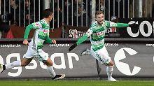 St. Pauli immer näher am Abstieg: Fürth beendet den Torfluch