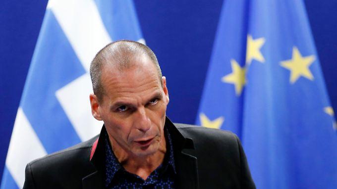 Legt sich mit der Eurozone an: Griechenlands Finanzminister Yanis Varoufakis.