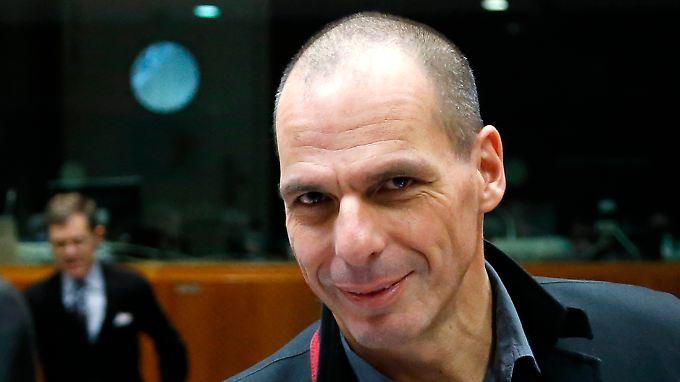 Griechenlands Finanzminister Yanis Varoufakis verbreitet Zuversicht.