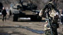 Nur innerhalb der Ukraine: Separatisten schließen EU-Mission nicht aus