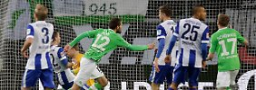 Der siegende Holländer: Wolfsburgs Dost schießt auch Hertha ab