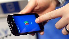 Bezahldienst fürs Smartphone: Google holt drei US-Mobilfunker ins Boot