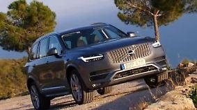 Endlich wieder ein echter Schwede: Volvo XC90 - mit der Kraft des Donnergottes