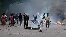 Dhaka im Mai 2013: Kundgebung für verschärfte Blasphemie-Gesetze schlagen in Gewalt um.