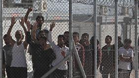 Griechenland kann nicht gut für seien Flüchtlinge sorgen.