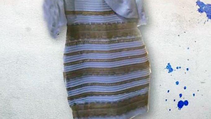 Dressgate ist ein Hirntrick: So sieht das Rätsel-Kleid wirklich aus