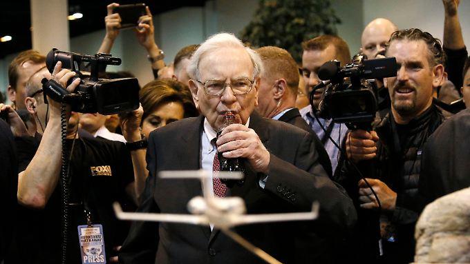 Warren Buffett beim alljährlichen Aktionärstreffen in Omaha.