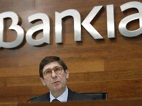 Bankia-Chef José Ignacio Goirigolzarri verkündete, dass sein Haus 2014 den Gewinn im Vergleich zum Vorjahr um 83,3 Prozent steigern konnte.