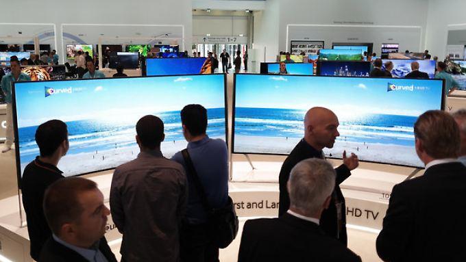 Merck profitiert unter anderem von der Nachfrage nach großen Fernsehern.