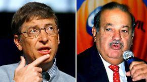 """""""Forbes"""" kürt Superreiche: Hinter Bill Gates tut sich was"""
