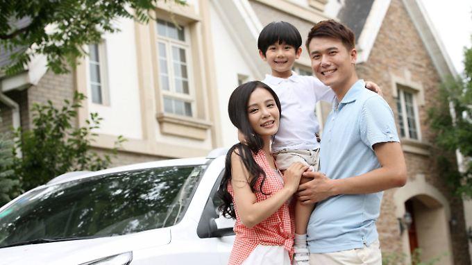 So sieht sie wohl aus, die chinesische Vorzeigefamilie. Die Zahlen gewalttätiger Übergriffe zeichnen jedoch ein anderes Bild.
