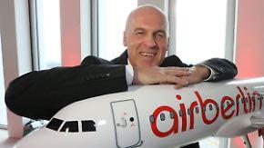 Raus aus den roten Zahlen: Air Berlin-Chef Pichler setzt auf Sanierung