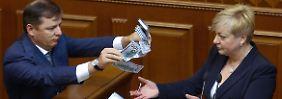 Währung stürzt ab: Ukrainer schimpfen über Zentralbankchefin