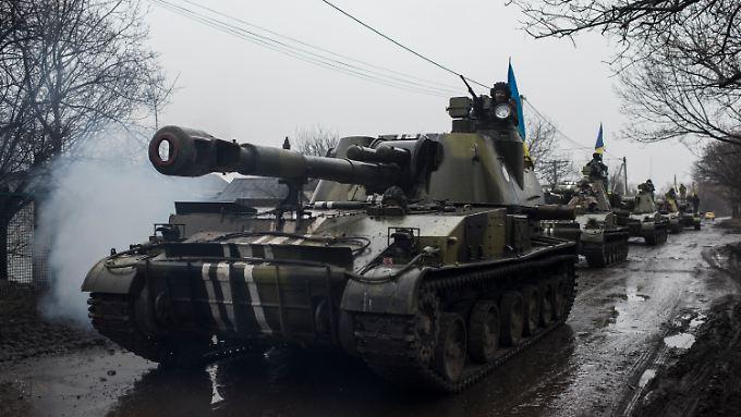 Die ukrainische Armee soll künftig vergrößert werden.