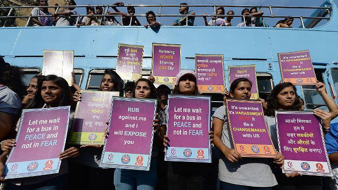 Seit Bekanntwerden einer Gruppenvergewaltigung 2012 ist Gewalt gegen Frauen in Indien ein großes Thema.