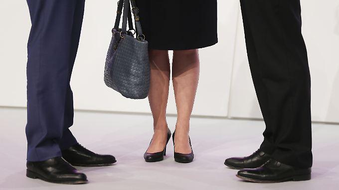 Weniger als die Hälfte der Dax-Firmen erfüllt die Frauenquote.