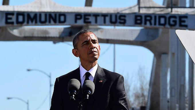 Barack Obama hielt eine emotionale, persönliche Rede.