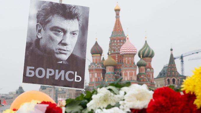 Nemzow wurde im Februar in Moskau auf offener Straße erschossen.