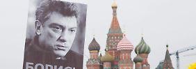 Untersuchungen abgeschlossen: Russland klagt angebliche Nemzow-Mörder an