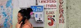 Embargo gilt weiter: Kuba und USA stellen Telefonverbindung her