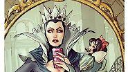Bikini-Selfie von Meerjungfrau Arielle: Disney-Stars machen Instagram unsicher