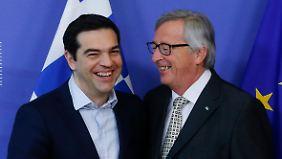 """""""Alles ist möglich"""": Tsipras wirbt bei """"Freunden"""" in Brüssel um EU-Hilfe"""