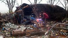 """Horrornacht in Vanuatu: Zyklon """"Pam"""" zerstört das Paradies"""