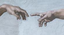 Der wohl älteste Stups der Welt gemalt von Michelangelo zwischen 1508 und 1512.