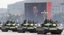 Immer weniger Waffenexporte: China zieht an Deutschland vorbei