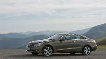 Als Neuwagen ist das Mercedes E-Klasse Coupé extrem teuer, als Gebrauchtwagen immer noch kein Schnäppchen.