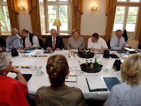 Das Präsidium der CDU berät bis einschließlich Montag über den Kurs der Partei.