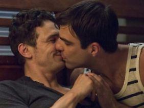 """Vor der Kamera küsst James Franco immer wieder Männer - zuletzt im Berlinale-Streifen """"I Am Michael""""."""