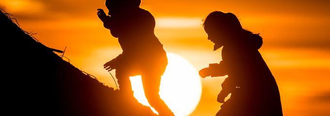 Das Spiel mit der Sonne - in diesen Tagen besonders gefragt.