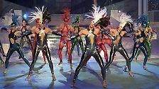... viel Musik, Sketche und sonstige Showacts. Das Ballett des DFF - später deutsches Fernsehballett - ist fester Bestandteil der Sendung.