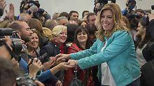 Linkspartei hinter Erwartungen: Andalusien bleibt Sozialisten-Hochburg