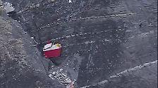 Erste Bilder von der Absturzstelle: Germanwings A320 stürzt in den Alpen ab